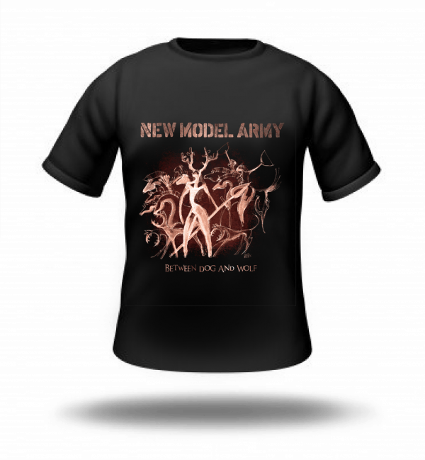 Buy Online New Model Army - Between Dog And Wolf T-Shirt