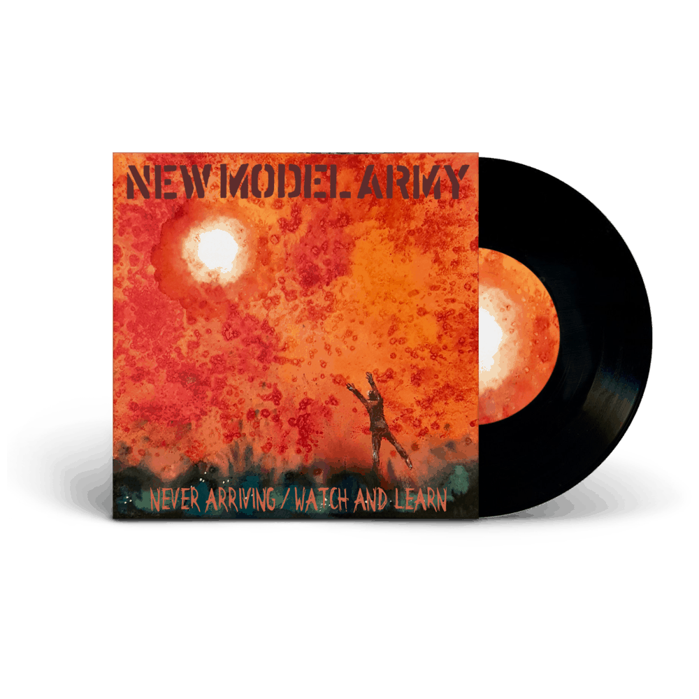 Buy Online New Model Army - Never Arriving / Watch And Learn (Signed)