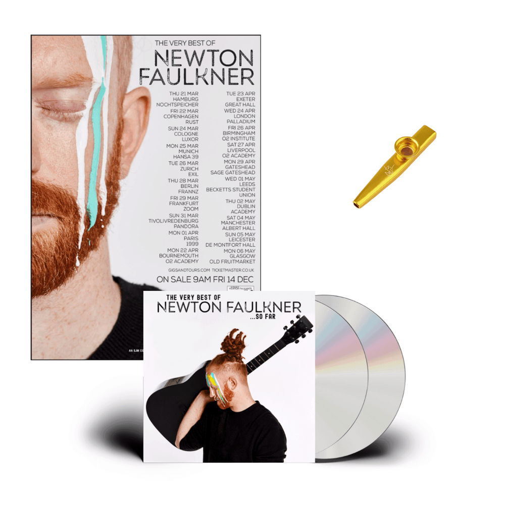 Buy Online Newton Faulkner - The Newton Faulkner Gig Ready Bundle