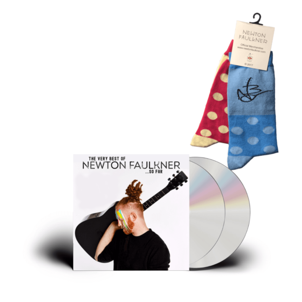 Buy Online Newton Faulkner - The Newton Faulkner Odd Sock Bundle