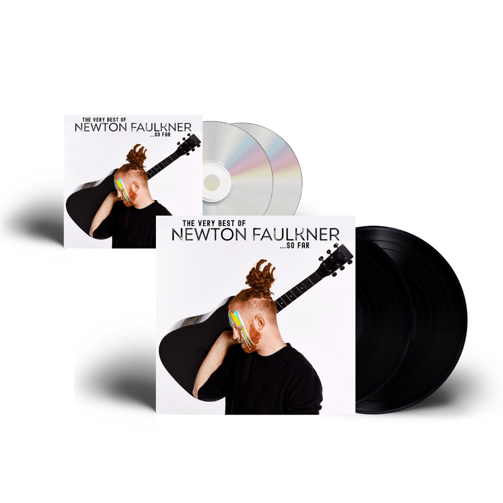 Buy Online Newton Faulkner - The Very Best Of Newton Faulkner…So Far Signed CD + Double Vinyl