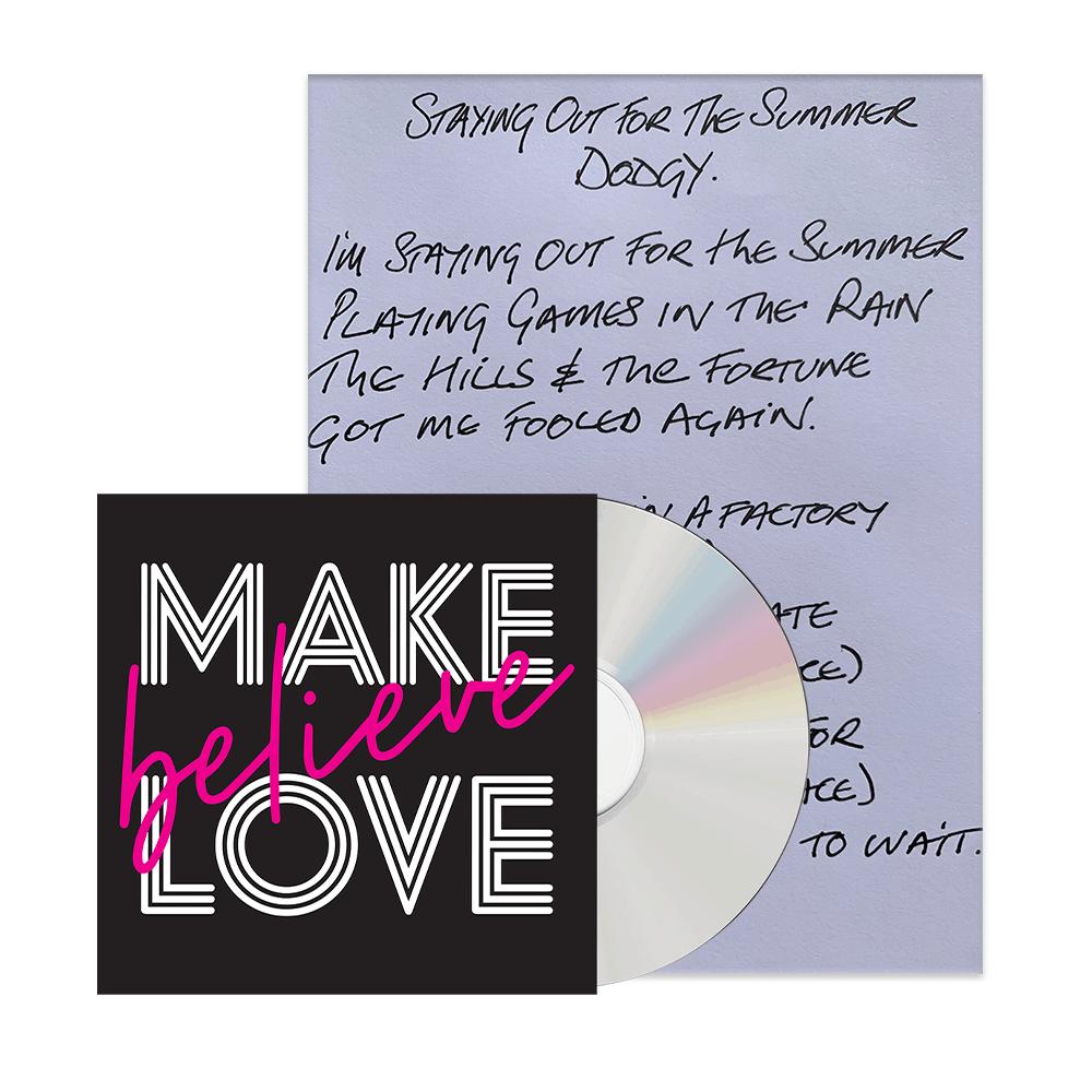 Buy Online Nigel Clark - Handwritten Lyric Sheet + CD Bundle