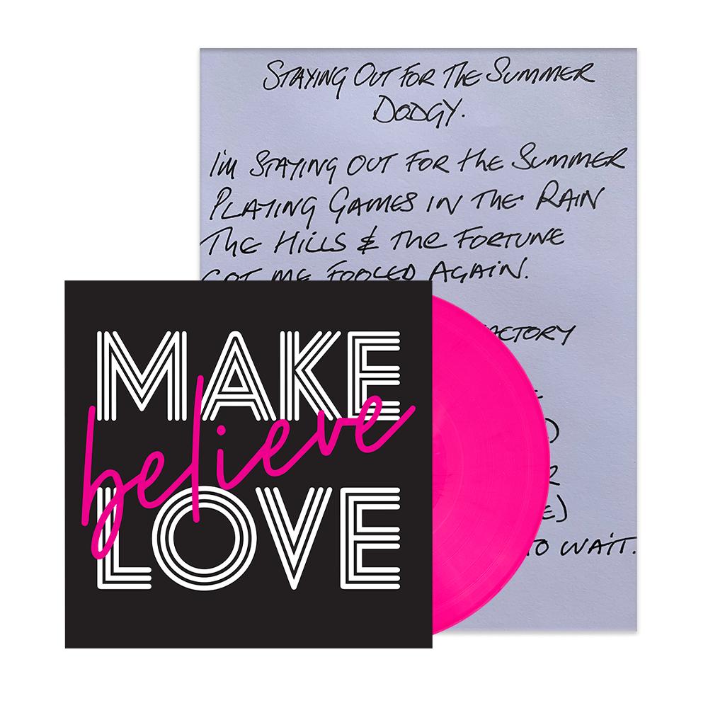 Buy Online Nigel Clark - Handwritten Lyric Sheet + Vinyl Bundle