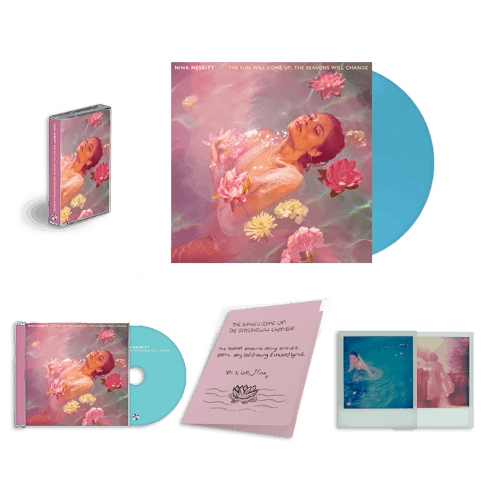 Buy Online Nina Nesbitt - The Sun Will Come Up Exclusive LP + Signed CD + Cassette + A5 Diary Booklet