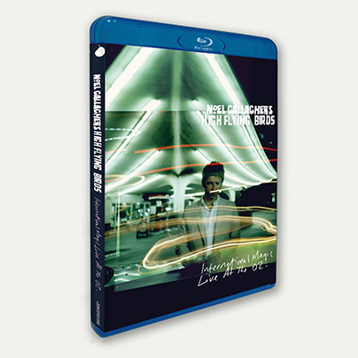 Buy Online Noel Gallagher's High Flying Birds - International Magic Live At The O2 (Blu-Ray & CD)