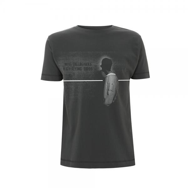 Buy Online Noel Gallagher\'s High Flying Birds - White Strobe T-Shirt
