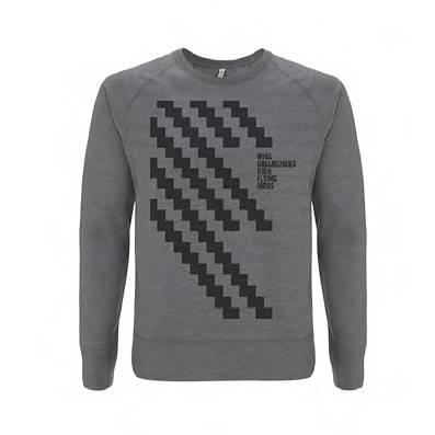 Buy Online Noel Gallagher's High Flying Birds - Zig Zag Sweatshirt
