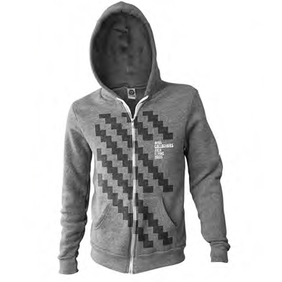Buy Online Noel Gallagher's High Flying Birds - Zig Zag Hoodie