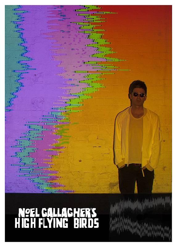 Buy Online Noel Gallagher's High Flying Birds - Litho Poster
