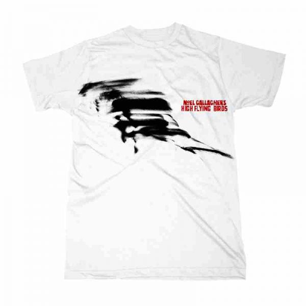 Buy Online Noel Gallagher's High Flying Birds - 2016 White Unisex T-Shirt (Store Exclusive)