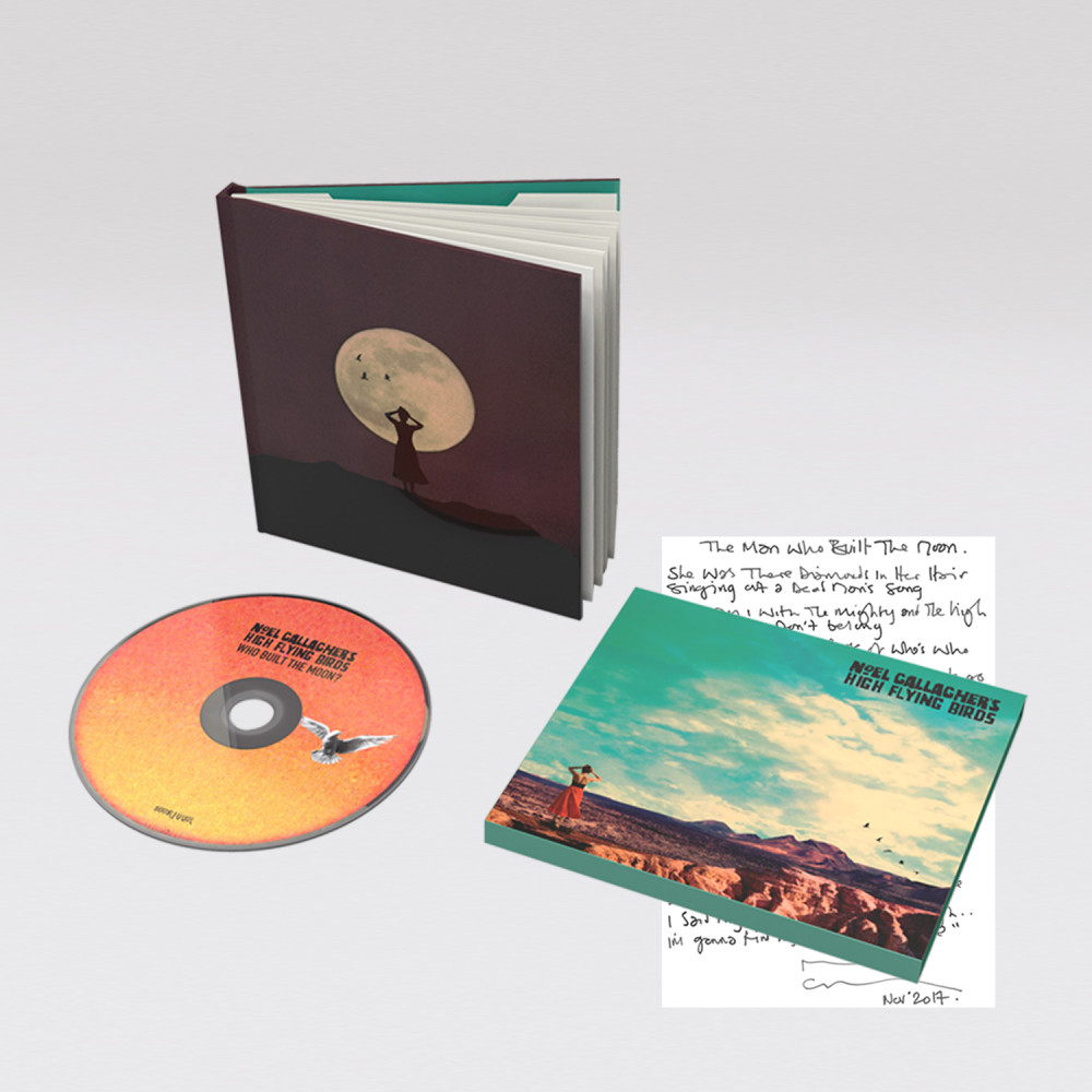 Buy Online Noel Gallagher's High Flying Birds - Who Built The Moon? Deluxe CD Album
