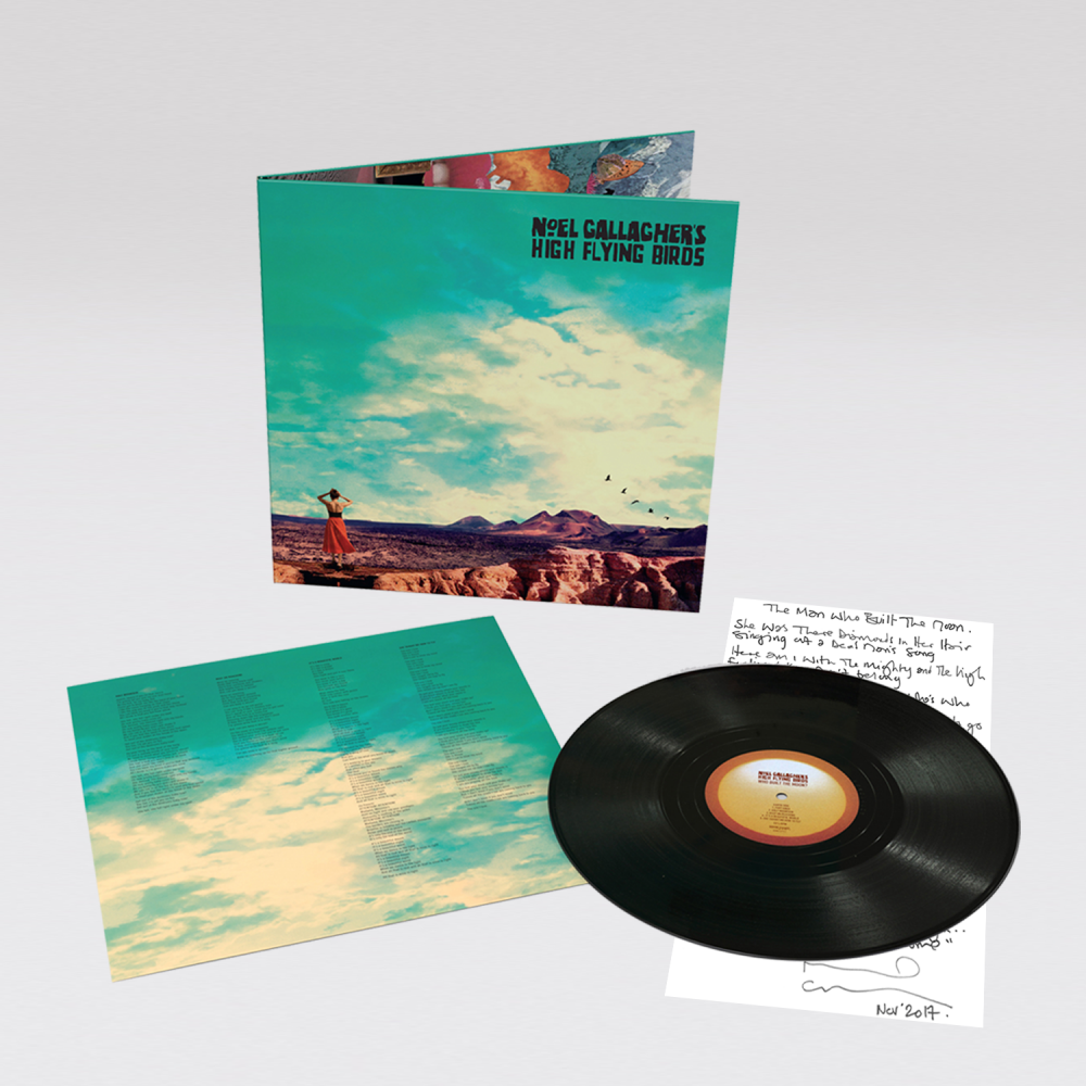 Buy Online Noel Gallagher's High Flying Birds - Who Built The Moon? Album