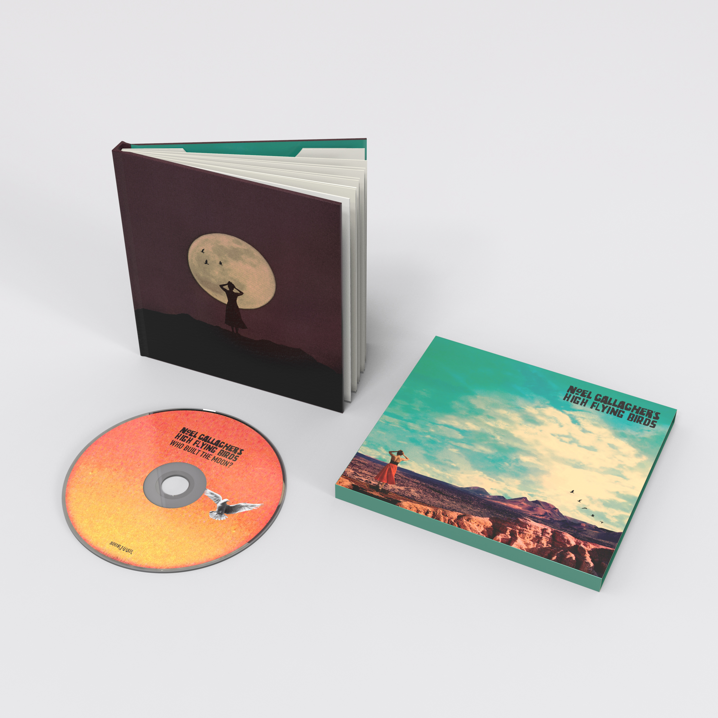 Buy Online Noel Gallagher's High Flying Birds - Who Built The Moon?