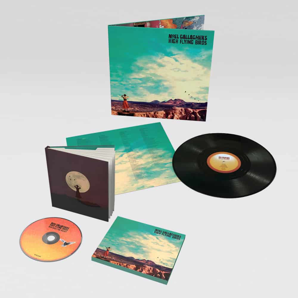 Buy Online Noel Gallagher's High Flying Birds - Deluxe CD + Vinyl LP Album
