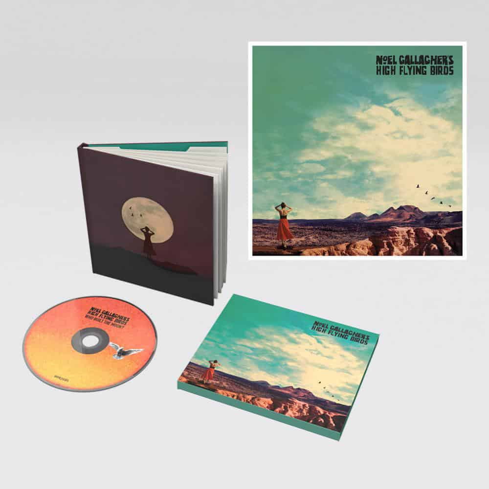 Buy Online Noel Gallagher's High Flying Birds - Deluxe CD + Lyric Sheet + Lenticular 3D Print