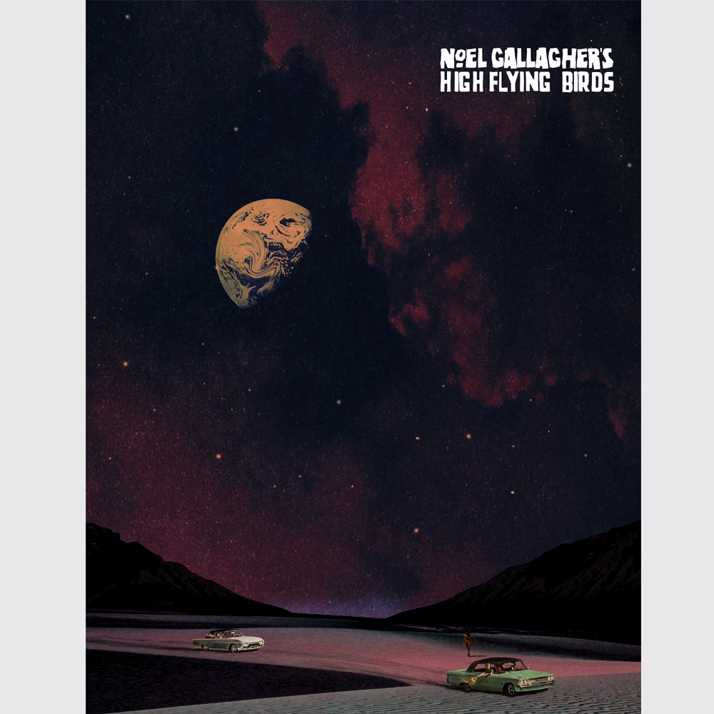 Buy Online Noel Gallagher's High Flying Birds - The Man Who Built The Moon Print