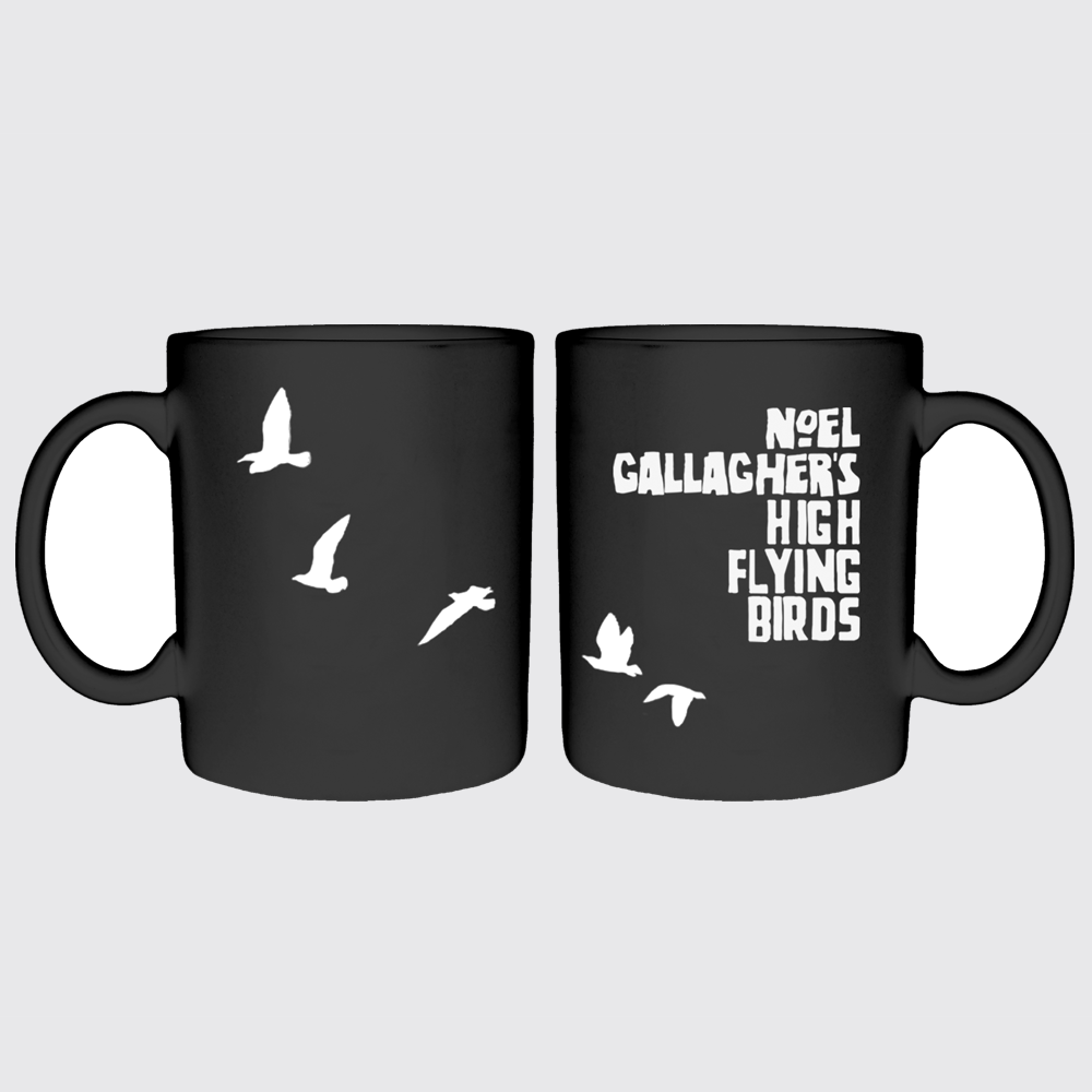 Buy Online Noel Gallagher's High Flying Birds - Black Bird Mug