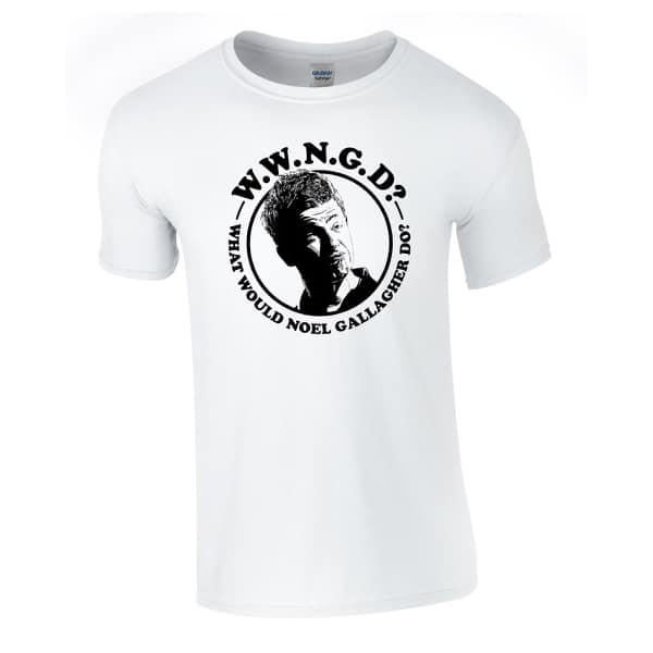 Buy Online Noel Gallagher's High Flying Birds - What Would Noel Gallagher Do? T-Shirt