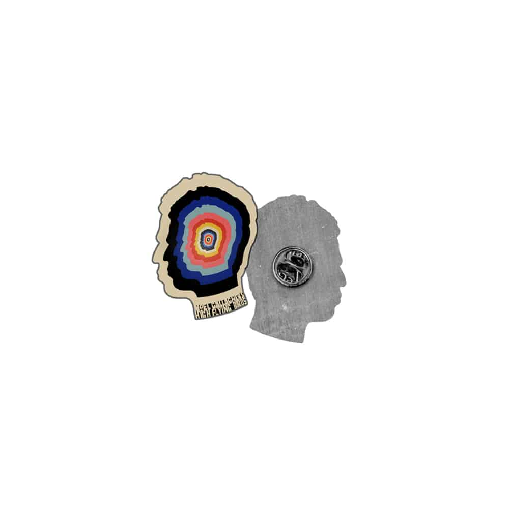 Buy Online Noel Gallagher's High Flying Birds - Multicolour Mind Enamel Pin Badge
