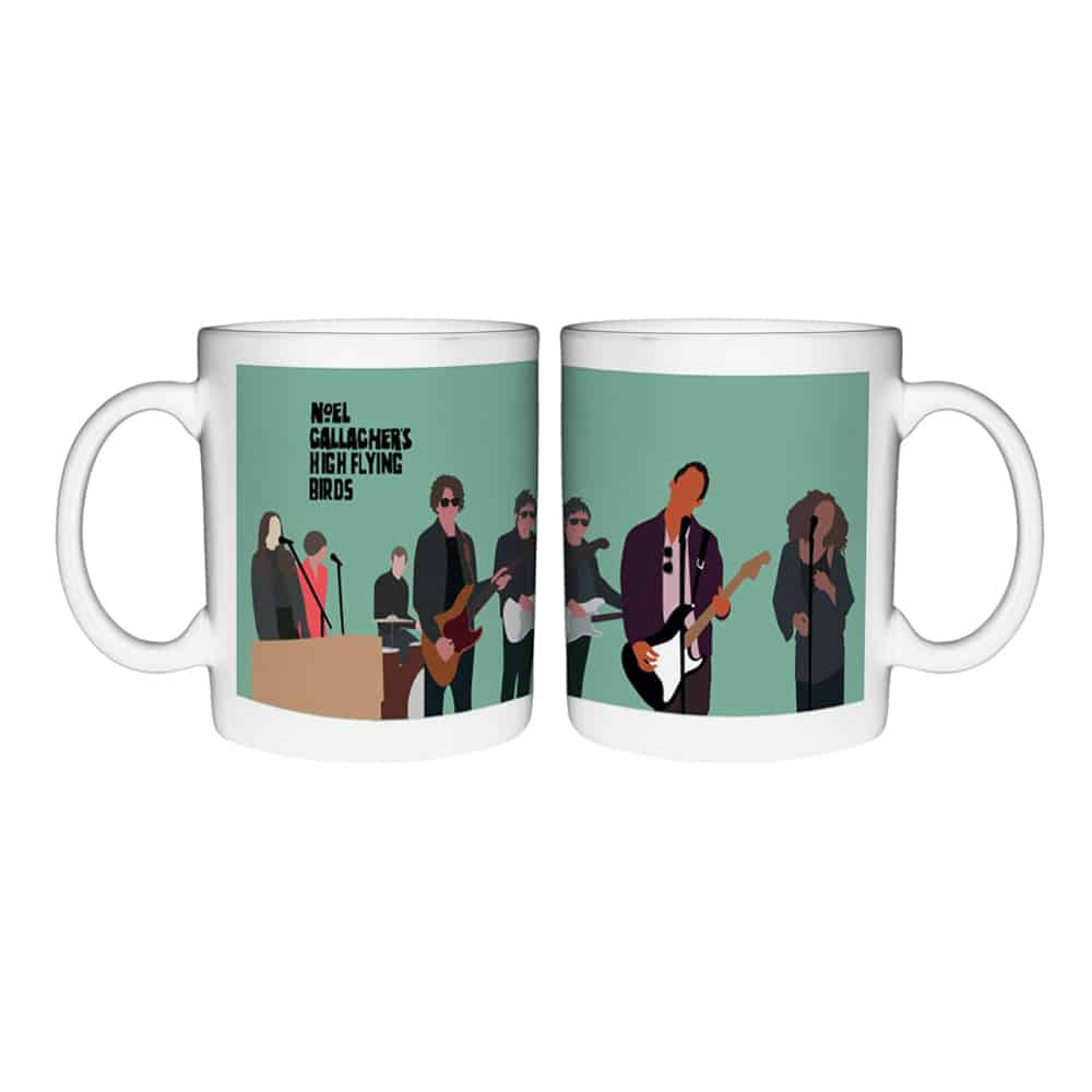 Buy Online Noel Gallagher's High Flying Birds - NGHFB Band Mug (Store Exclusive)