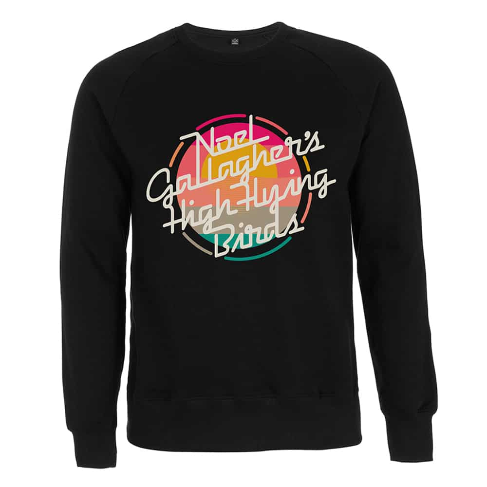 Buy Online Noel Gallagher's High Flying Birds - Sunrise Logo Sweatshirt