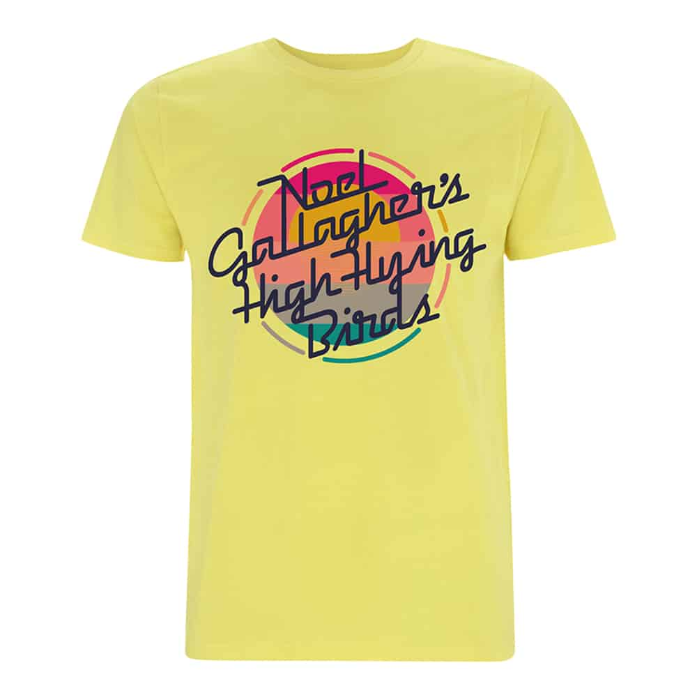 Buy Online Noel Gallagher's High Flying Birds - Sunrise Logo Ladies T-Shirt