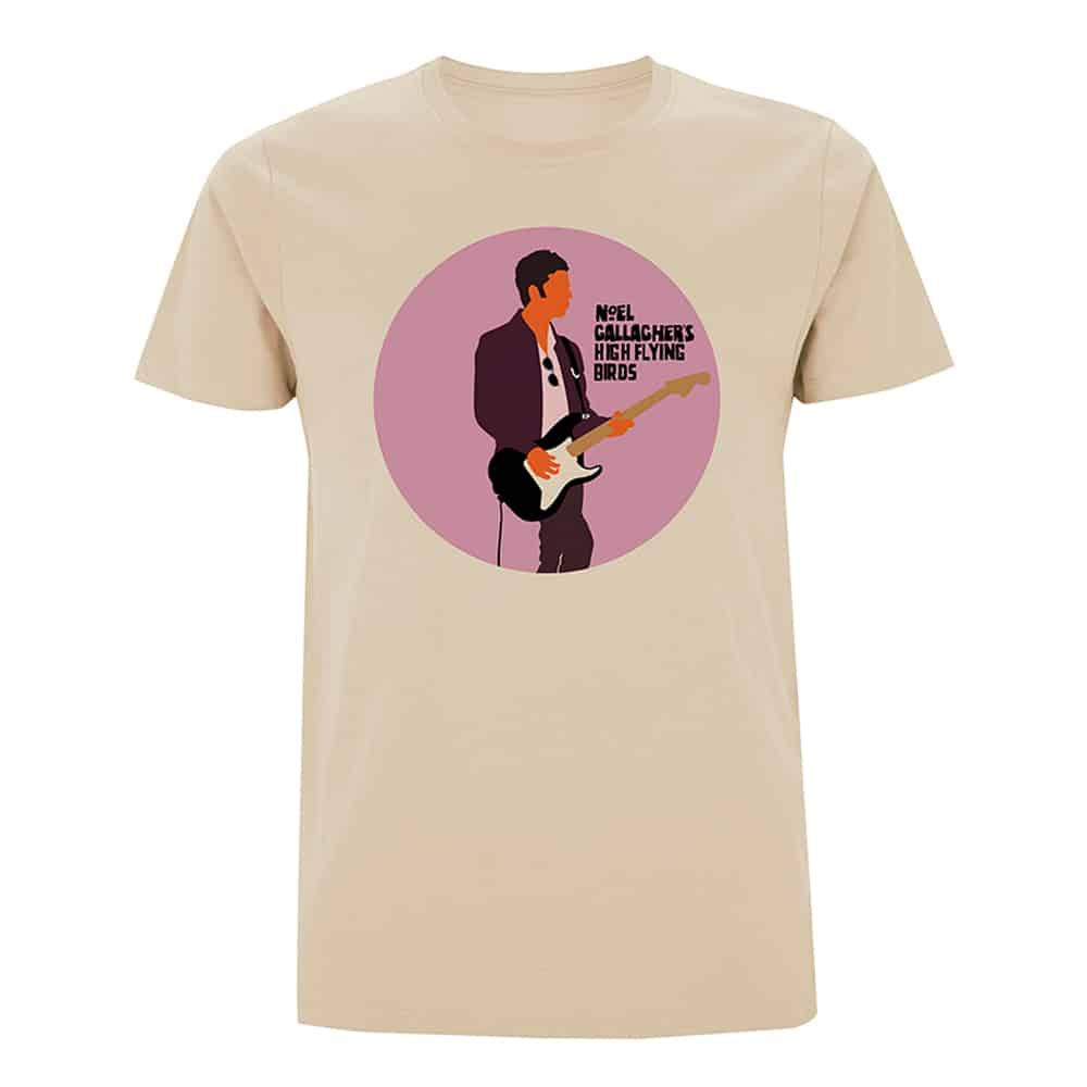Buy Online Noel Gallagher's High Flying Birds - Noel Guitar T-Shirt (Store Exclusive)