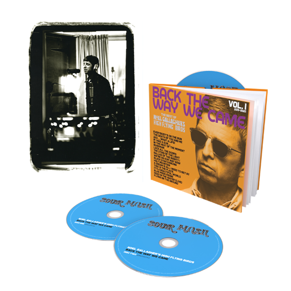 Buy Online Noel Gallagher's High Flying Birds - Back The Way We Came: Vol 1 (2011 - 2021) Deluxe 3CD + A4 Print (Exclusive)