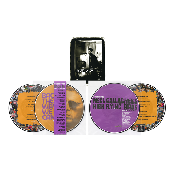 Buy Online Noel Gallagher's High Flying Birds - Back The Way We Came: Vol 1 (2011 - 2021) Double Heavyweight Picture Disc (Exclusive) + A4 Print (Exclusive)