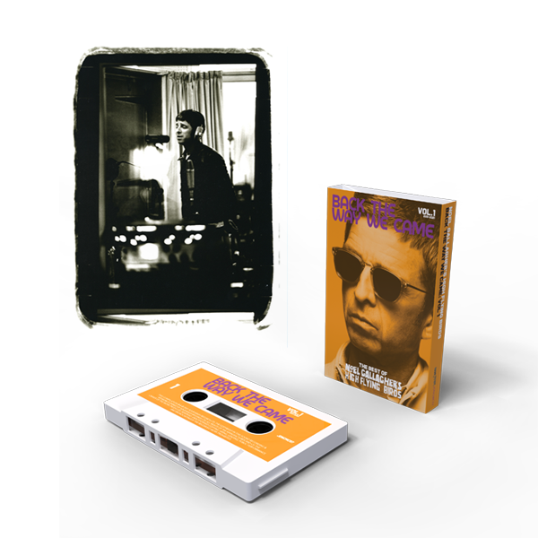Buy Online Noel Gallagher's High Flying Birds - Back The Way We Came: Vol 1 (2011 - 2021) Cassette (Exclusive) + A4 Print (Exclusive)