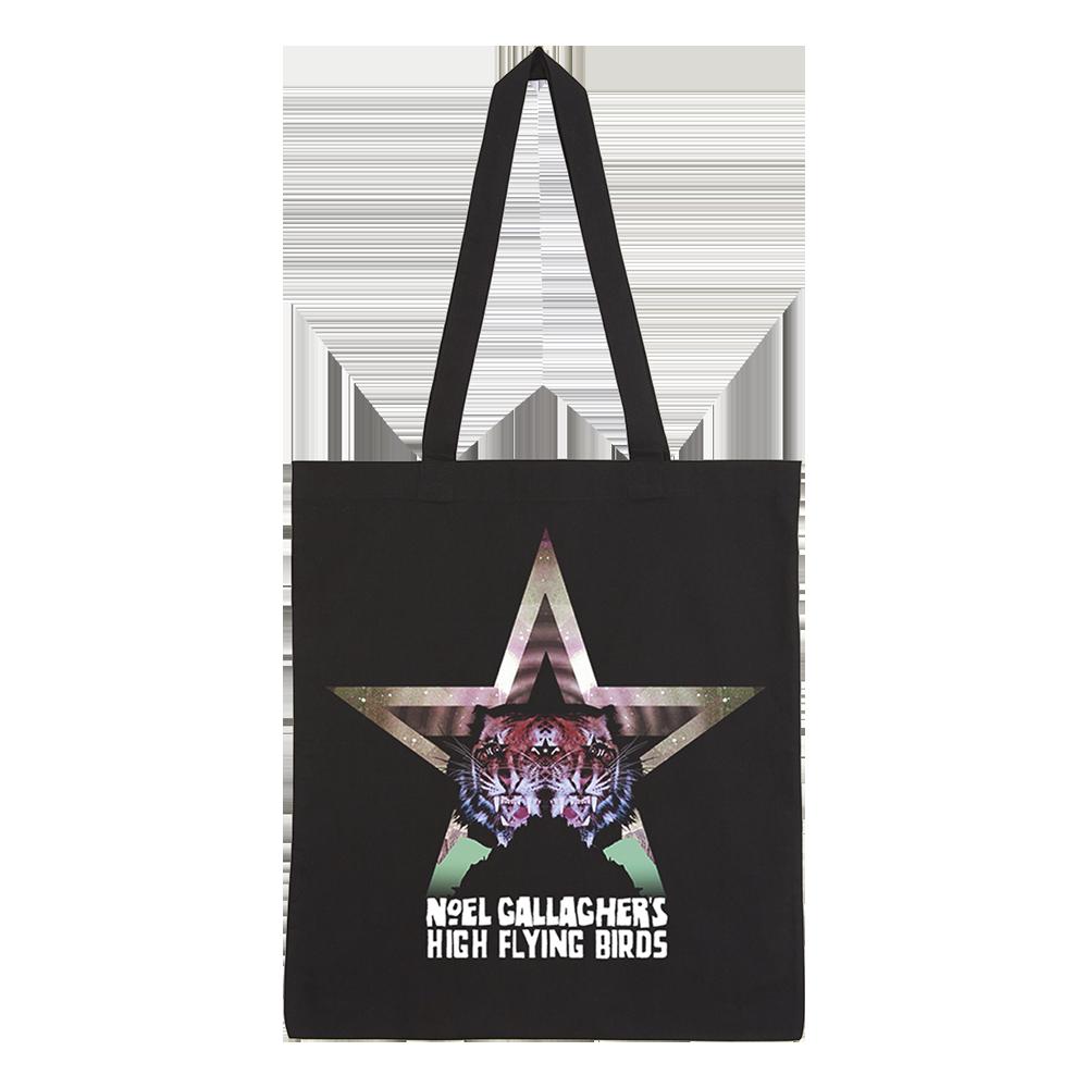 Buy Online Noel Gallagher's High Flying Birds - Black Star Dancing Tote Bag