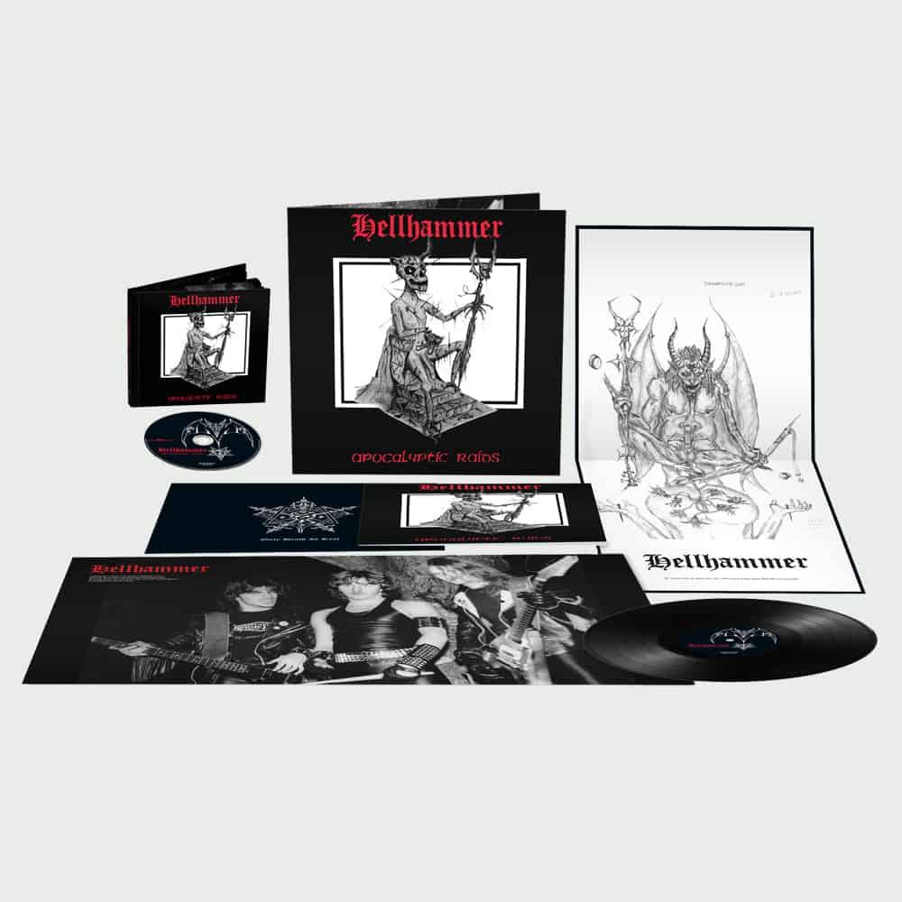 Buy Online Hellhammer - Apocalyptic Raids CD Album + Vinyl