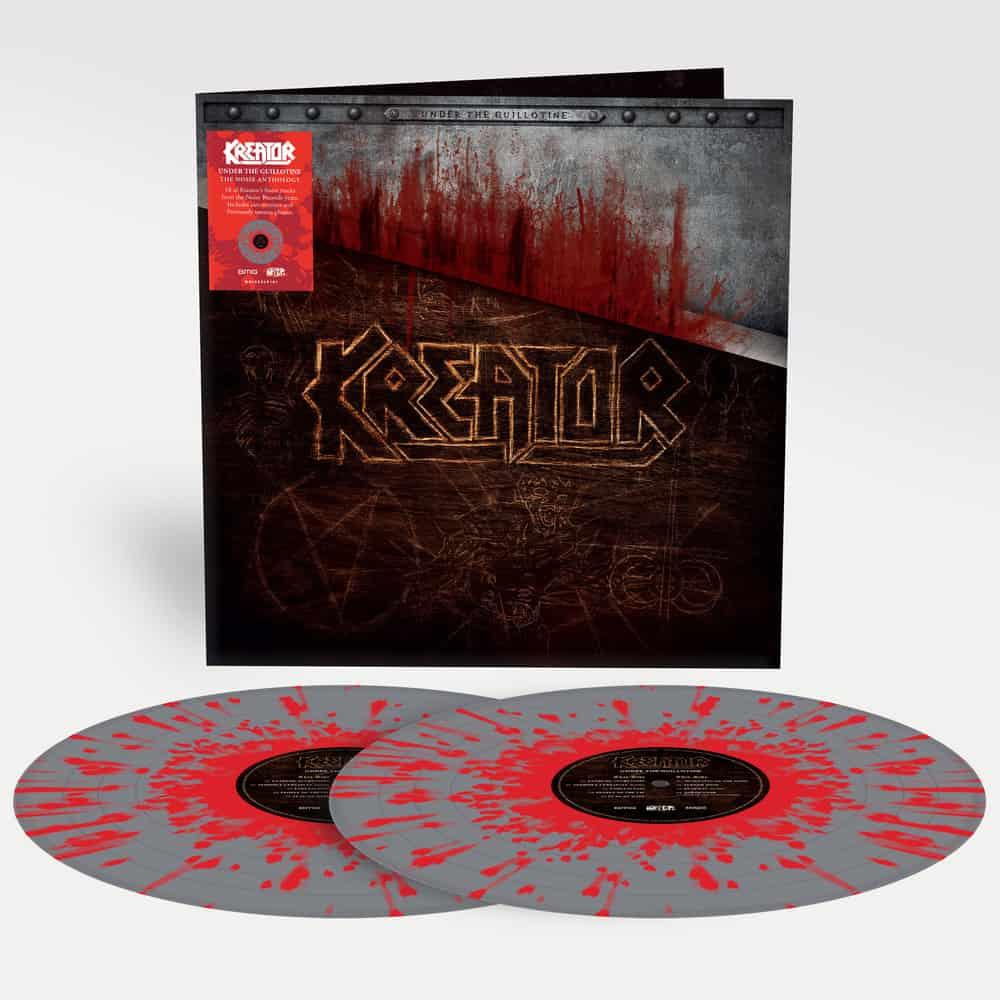 Buy Online Kreator - Under The Guillotine (The Noise Anthology) Splatter Double Vinyl