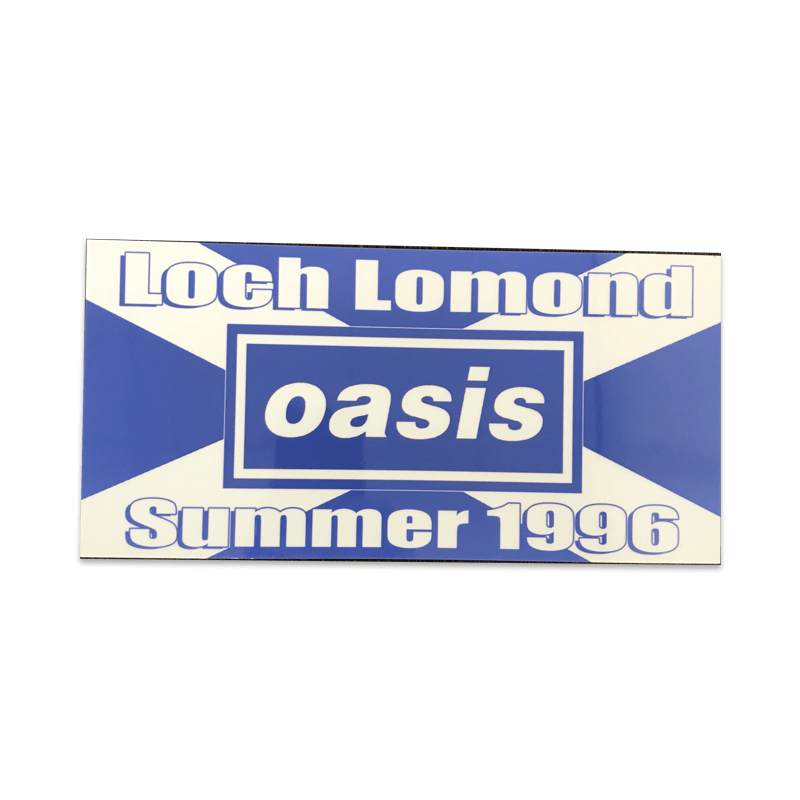Buy Online Oasis - Loch Lomond Sticker