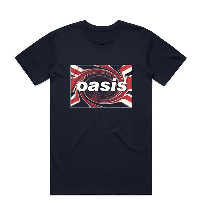 Buy Online Oasis - Union Jack T-Shirt