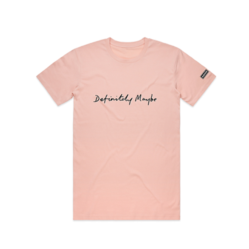 Buy Online Oasis - Definitely Maybe Pink T-Shirt