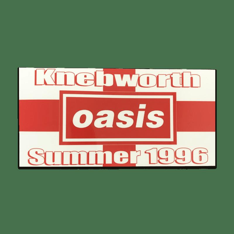 Buy Online Oasis - Knebworth Sticker