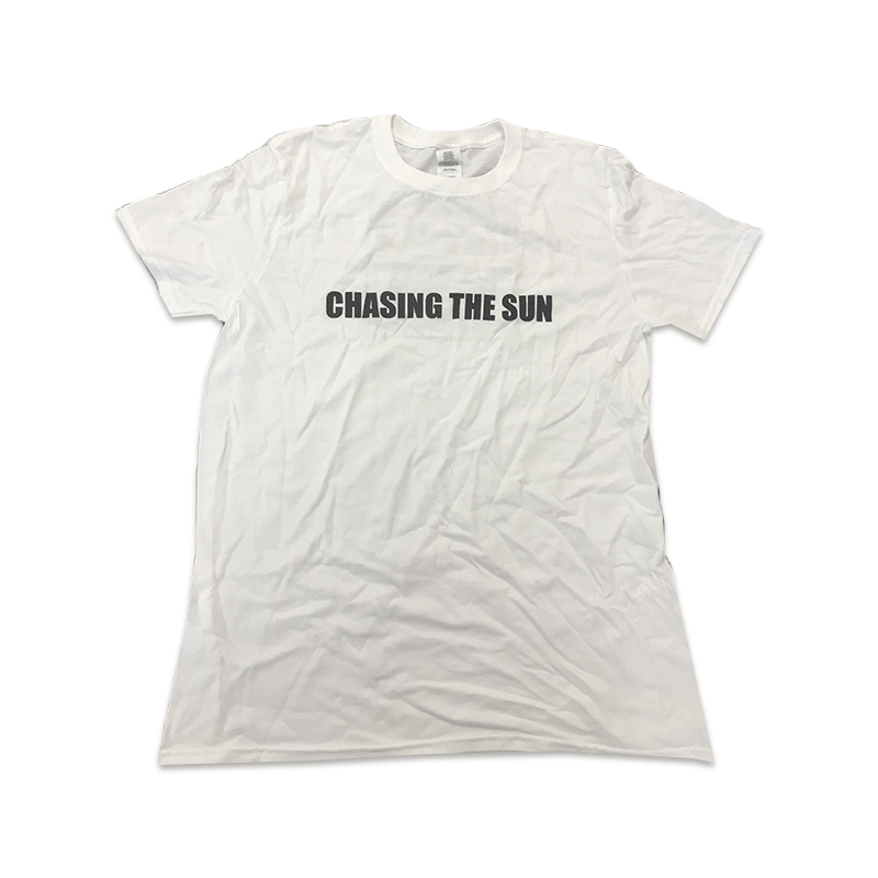 Buy Online Oasis - Chasing The Sun Exhibition White T-Shirt
