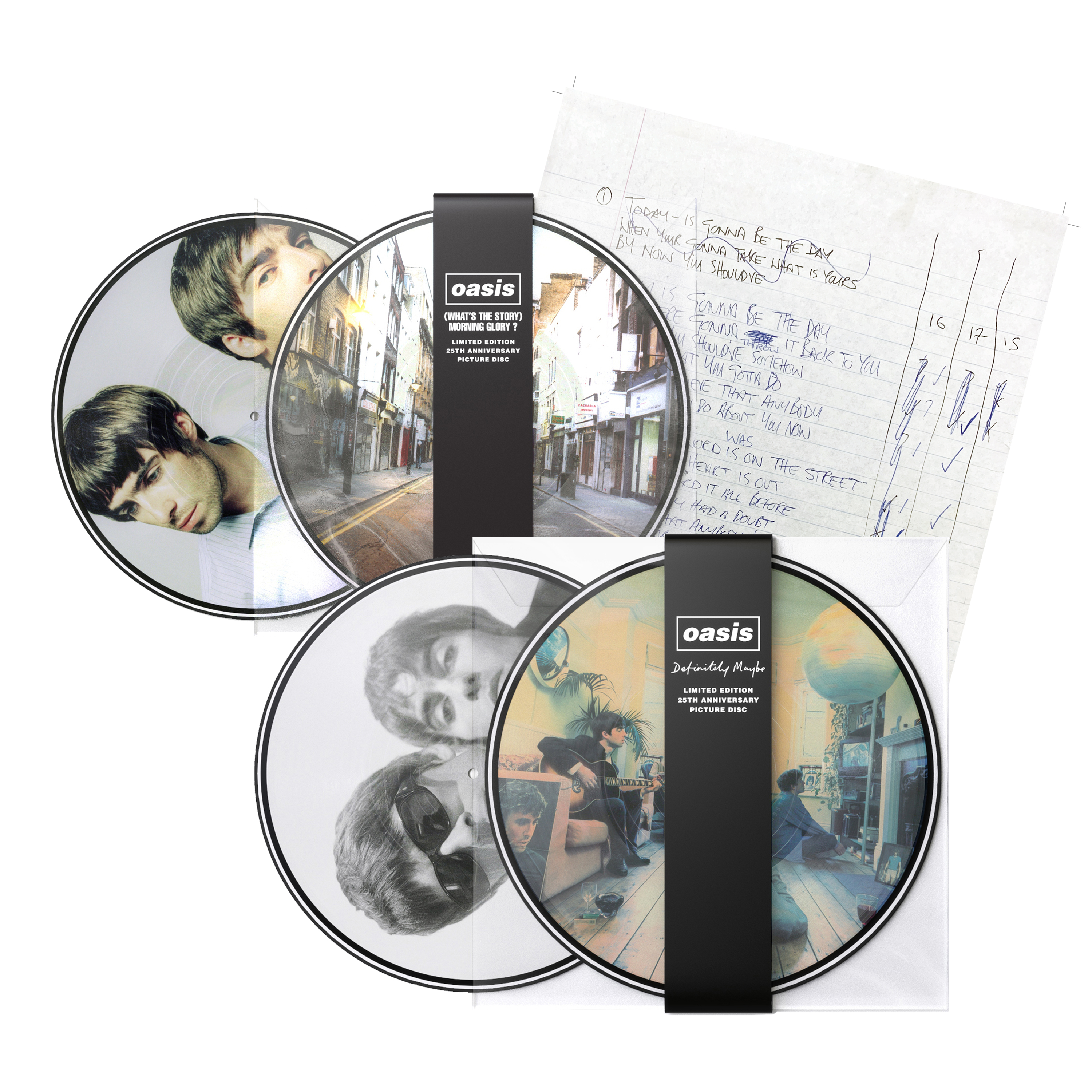 Buy Online Oasis - Picture Disc Vinyl Bundle