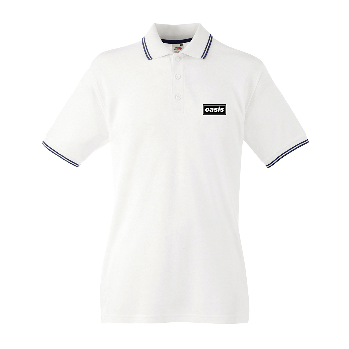 Buy Online Oasis - Oasis Replica Tour White Polo