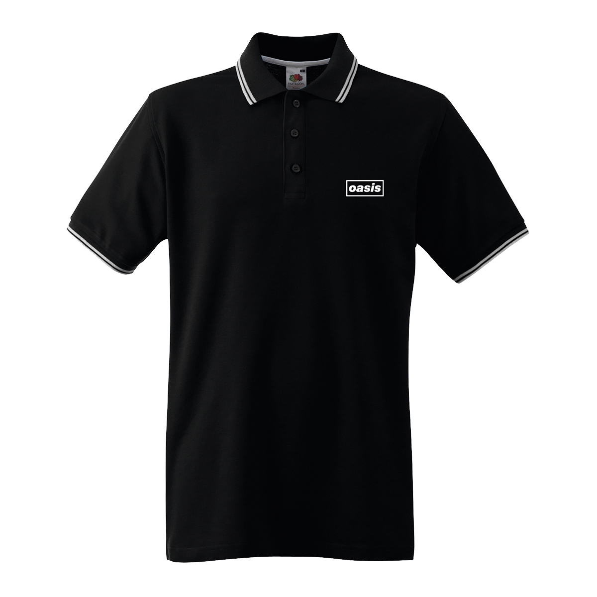 Buy Online Oasis - Oasis Replica Tour Black Polo