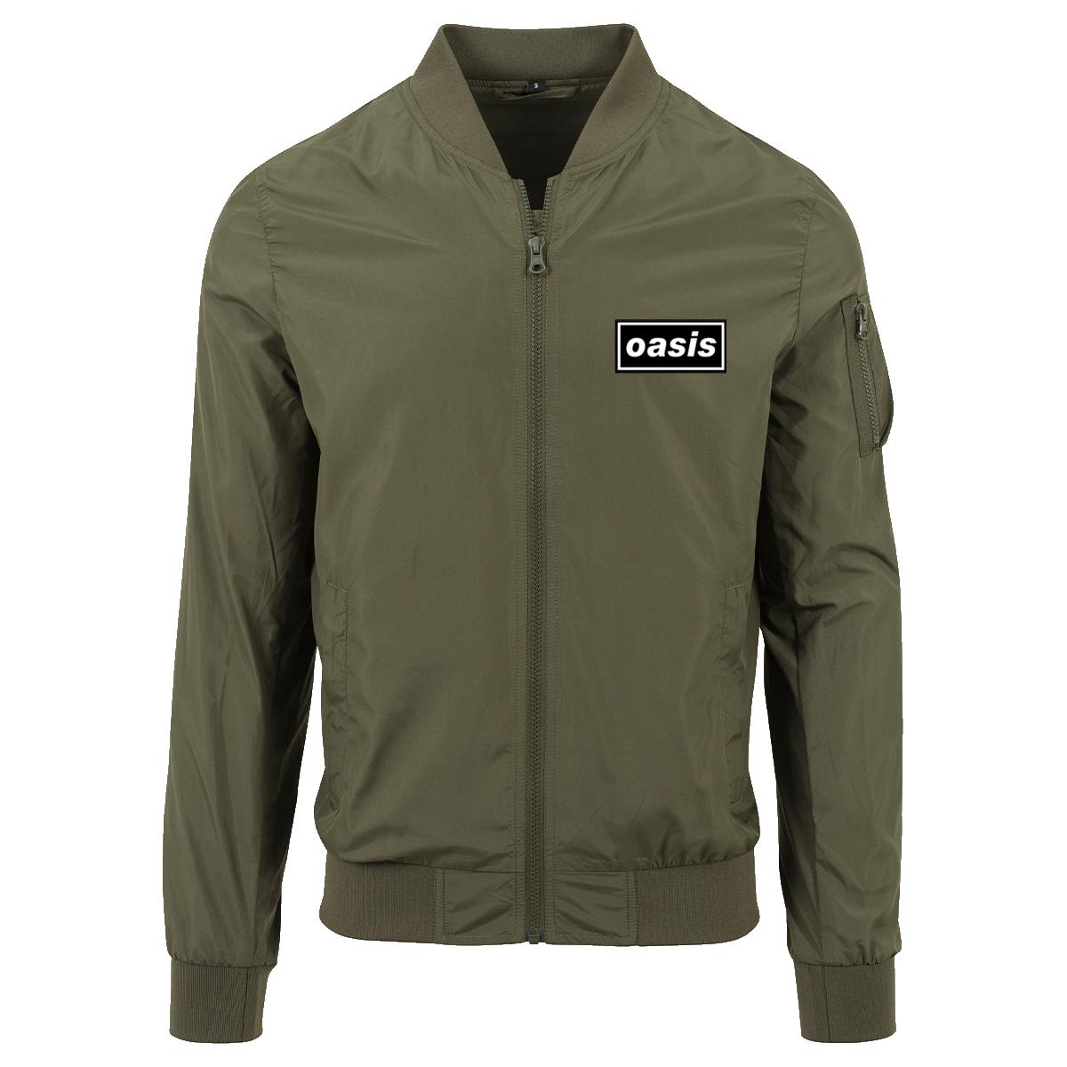 Buy Online Oasis - Oasis Green Bomber Jacket