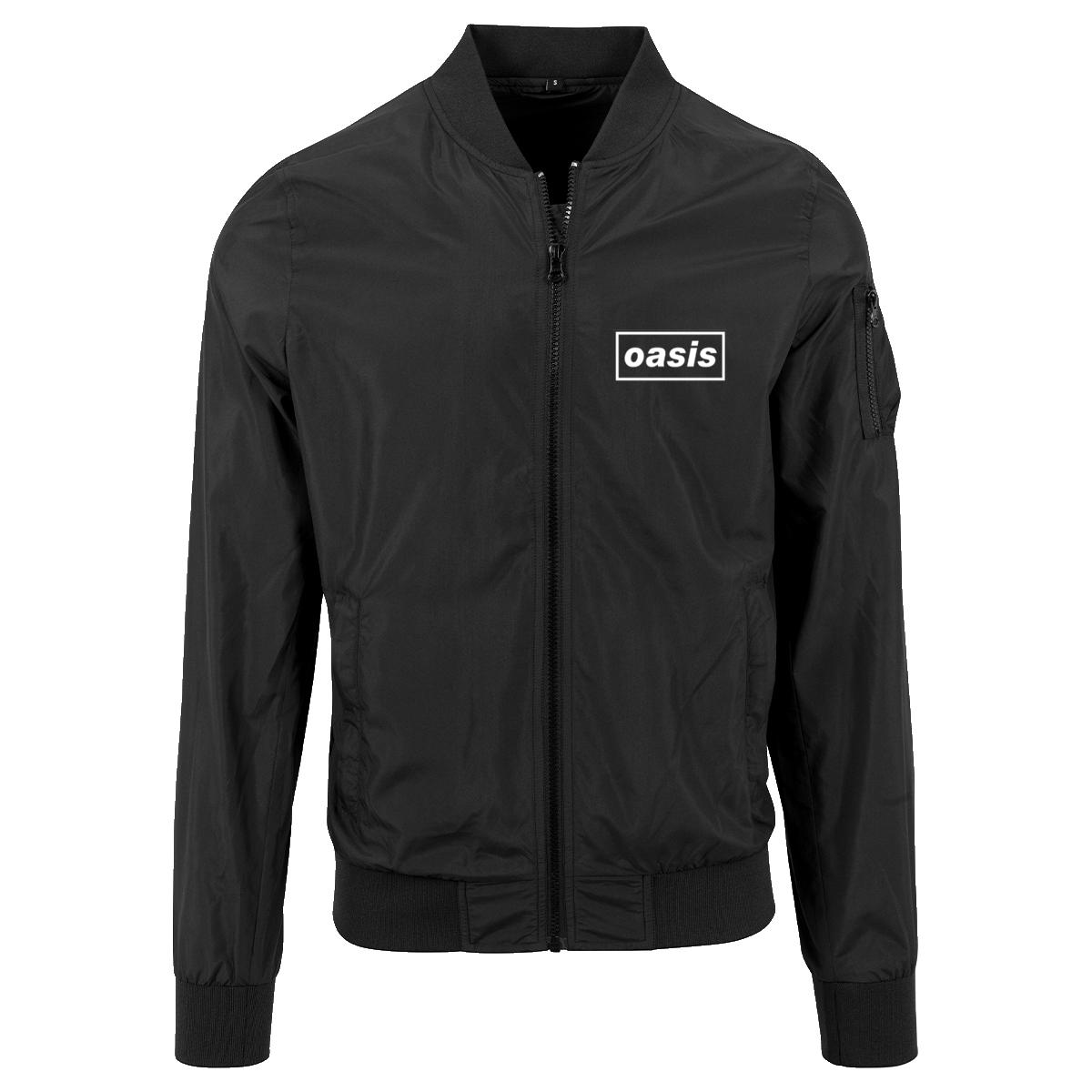 Buy Online Oasis - Oasis Black Bomber Jacket