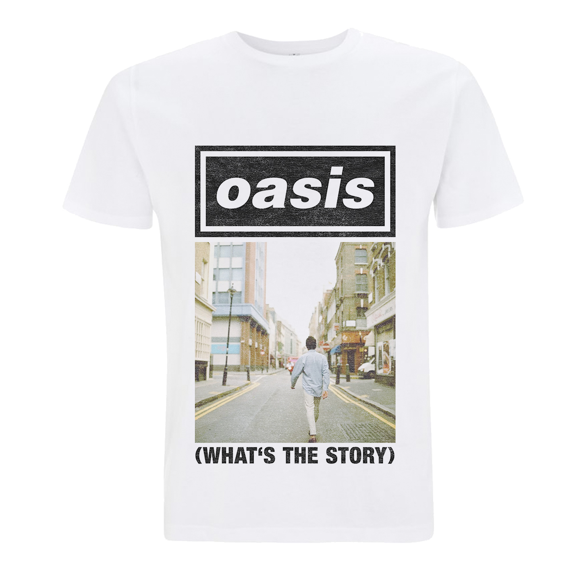 Buy Online Oasis - What's The Story T-Shirt