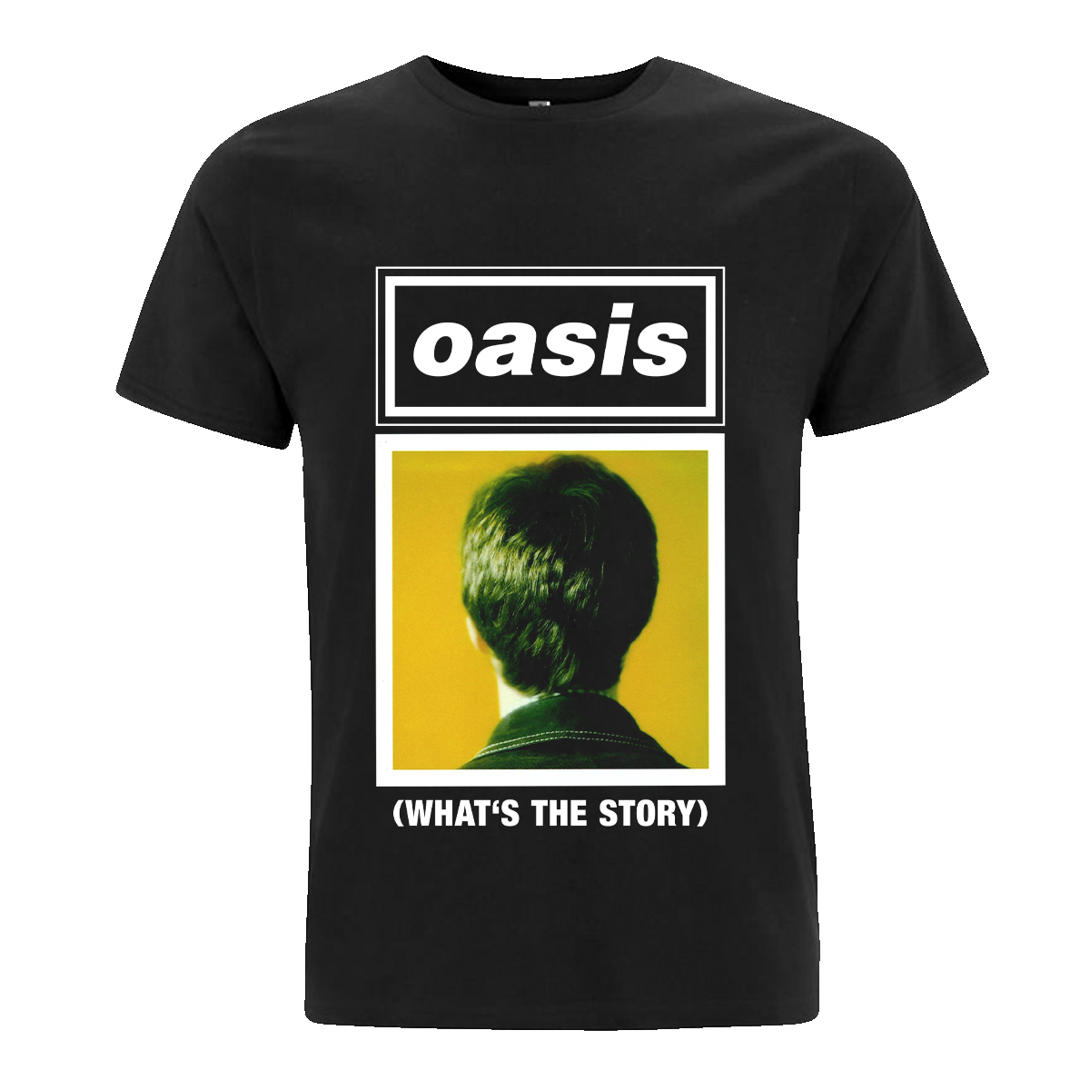 Buy Online Oasis - Organic '(What's The Story)' Noel T-Shirt
