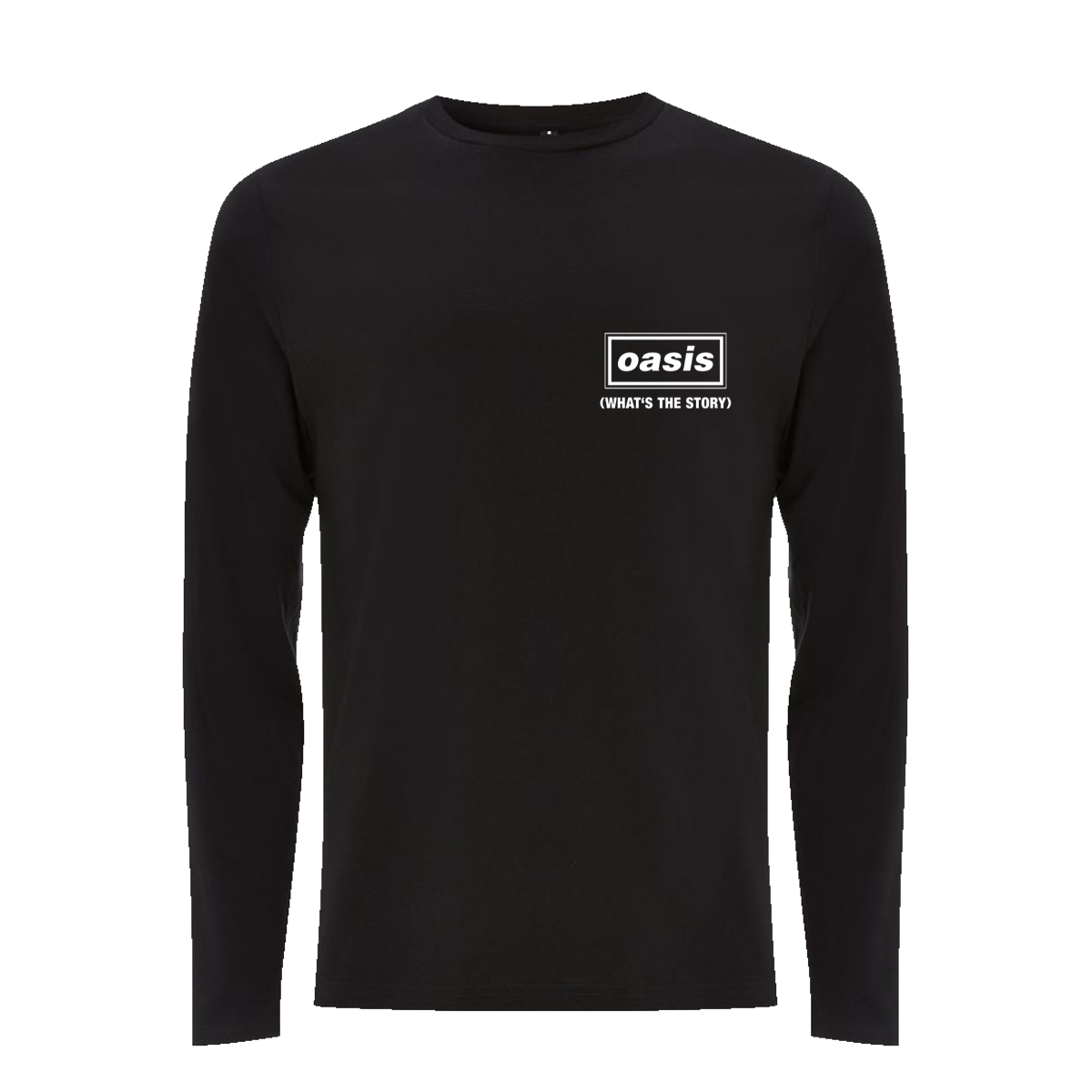 Buy Online Oasis - Organic '(What's The Story) Morning Glory?' Long Sleeve T-Shirt