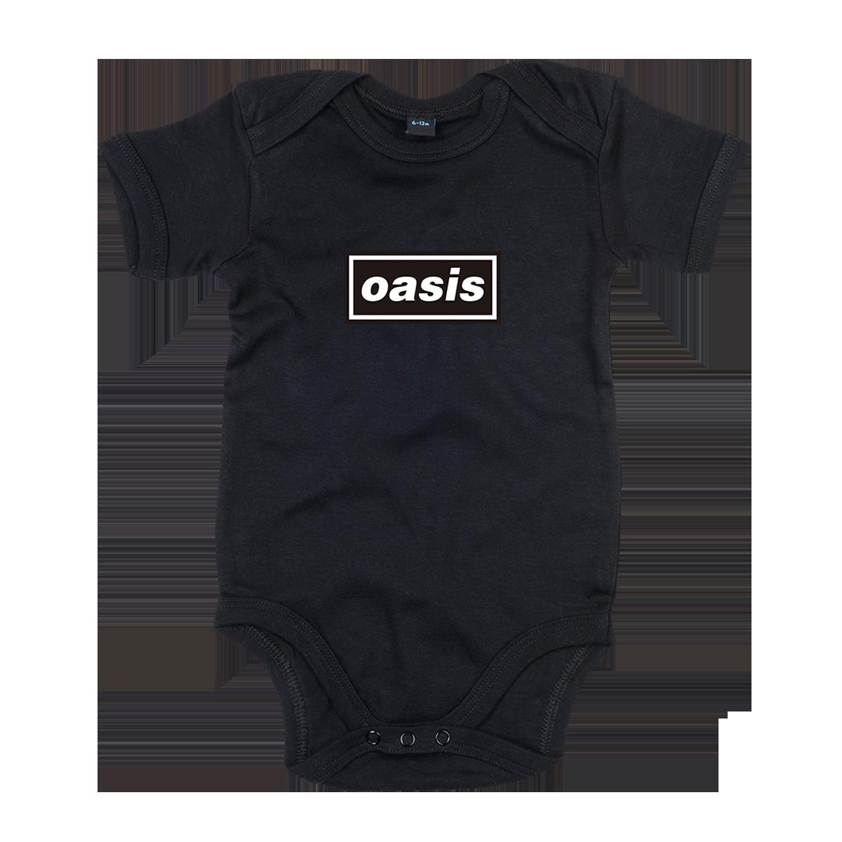 Buy Online Oasis - Baby Grow (Black)