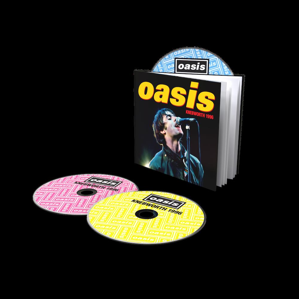 Buy Online Oasis - Knebworth 1996 DLX 2CD/DVD