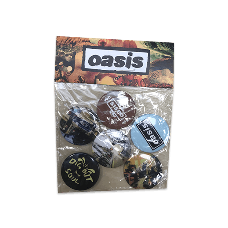 Buy Online Oasis - DOYS Badge Set (6 x Badges)