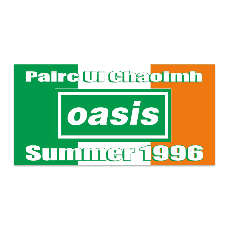 Buy Online Oasis - Pairc Ui Chaoimh Sticker